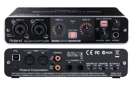 Roland UA-55 Quad-Capture