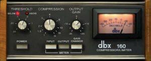 dbx 160 compressor limiter uad ua Universal Audio