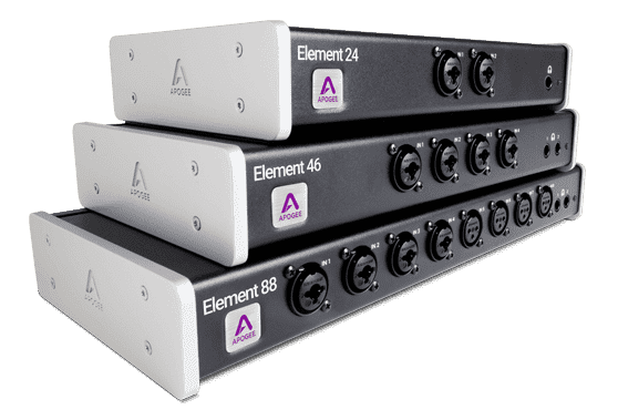Apogee Element Thunderbolt Audio Interfaces