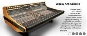 API AXS Legacy console