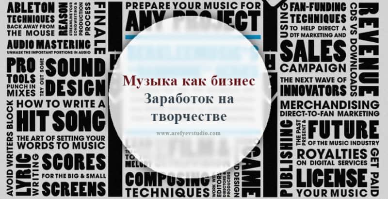 Muzyka kak biznes. Zarabotok na tvorchestve
