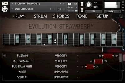 Orange Tree Samples Evolution Electric Guitar Strawberry