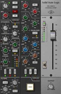 Universal Audio SSL 4000 E Channel Strip UA UAD