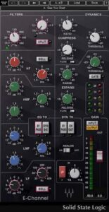Waves SSL E-Channel Strip, G-Channel Strip