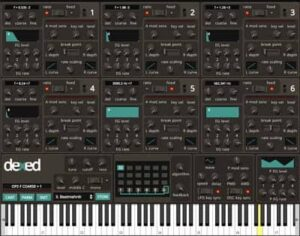 Dexed FM Plugin Synth Yamaha DX7