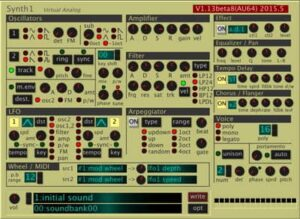 Synth 1 by Daichi Laboratory free vst plug-in