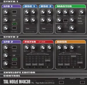 TAL NoiseMaker Free vst plug-in