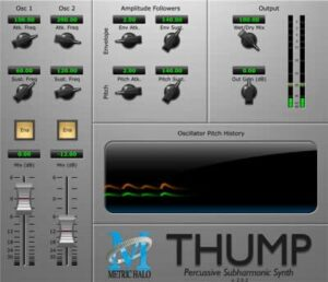 Thump by Metric Halo Free vst plug-in