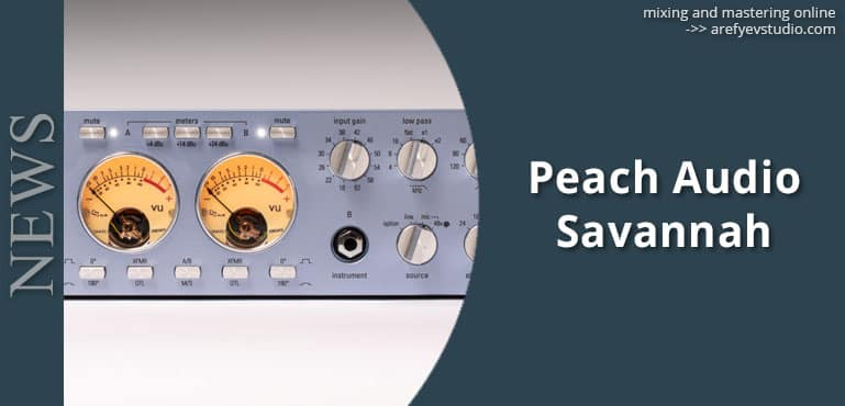Peach Audio Savannah M196sx