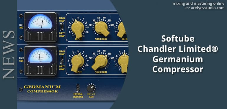 Softube Chandler Limited Germanium Compressor