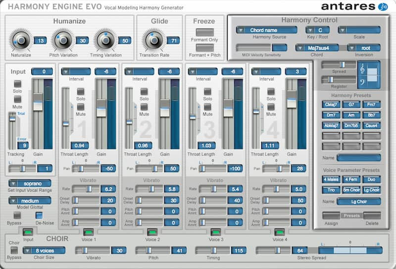 Antares Avox Evo Vocal Toolkit