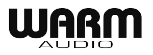 Analoges Mastering-Equipment warm audio
